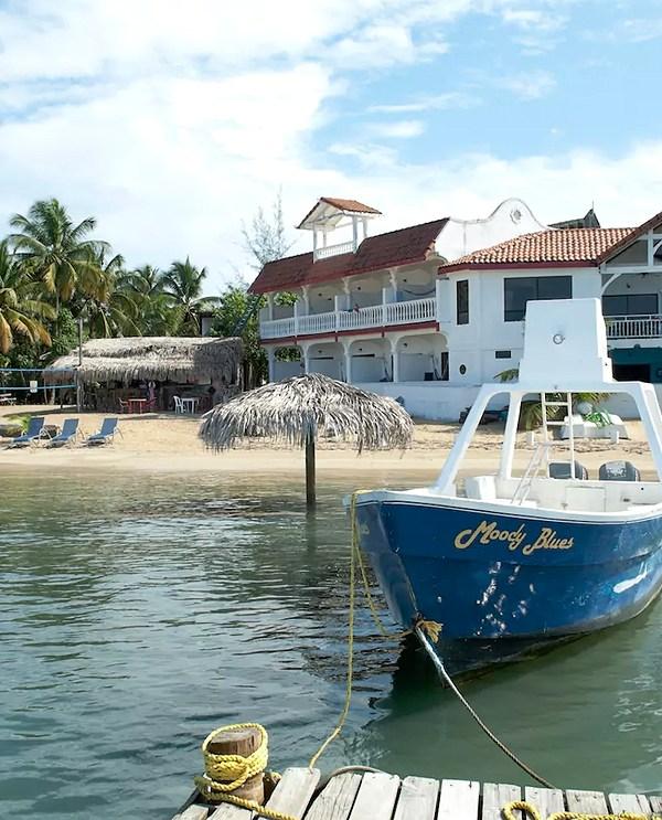 Brisas Del Mar shot from the dock