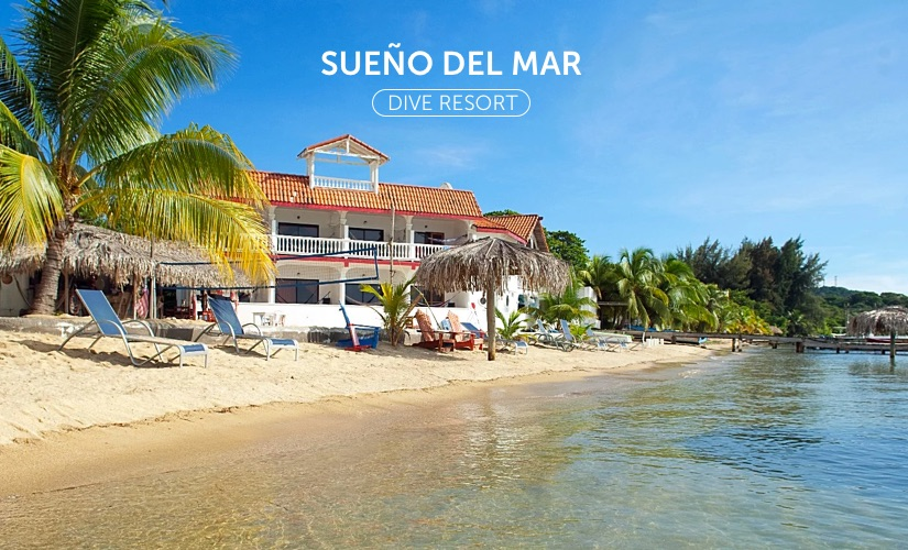 Sueno Del Mar resort on the beach